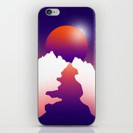 Spilt moon iPhone Skin