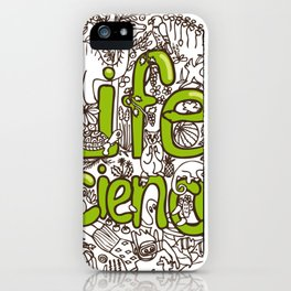 Life Science iPhone Case