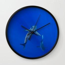 Hawaiian Shark III Wall Clock