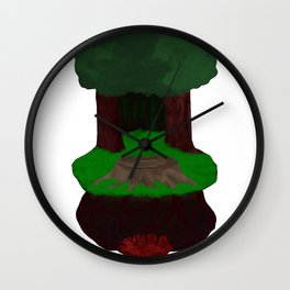 Heart of Darkness Wall Clock