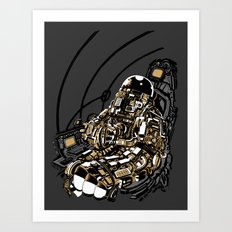 Full Throttle Art Print