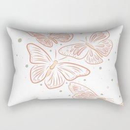 Pretty Butterflies - Vector drawing Rectangular Pillow