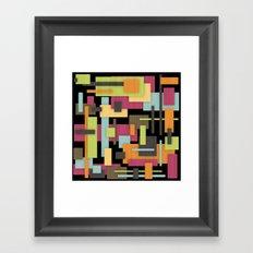 Retrotopia Framed Art Print