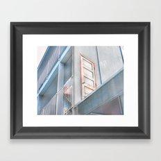 The Door to the Other Side- Vacancy Zine Framed Art Print