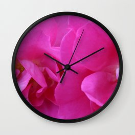 Two Roses Wall Clock