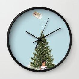 Minimal christmas Wall Clock