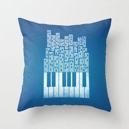 City of Amp Throw Pillow