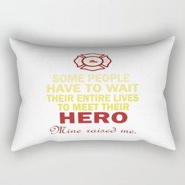 FIREFIGHTER'S DAUGHTER Rectangular Pillow