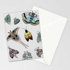 Moths Stationery Cards