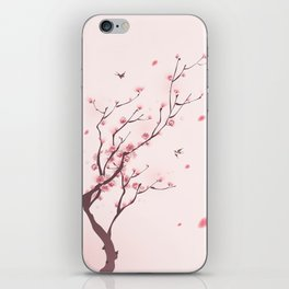 Oriental cherry blossom in spring 003 iPhone Skin