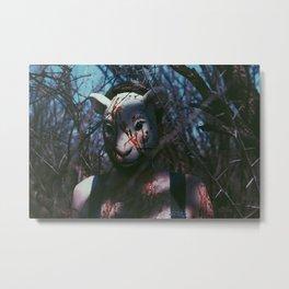 blood of the lamb  Metal Print
