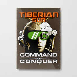 Tiberian Sun Commander Metal Print