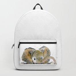 Hello,Anybody At Home? - Baby Elephant Backpack