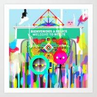 Río Hondo Art Print