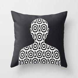 Dissociative Identity Disorder 3 Throw Pillow