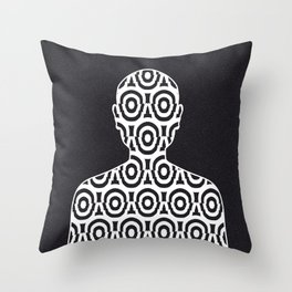 Dissociative Identity Disorder 3 Throw Pillow