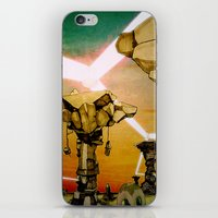 grid iPhone & iPod Skins featuring Grid by Zack Rogers