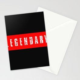 legendary design Stationery Cards