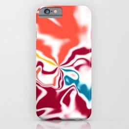 Liquid shapes 4 iPhone Case