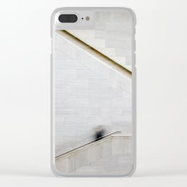Up & Down Clear iPhone Case