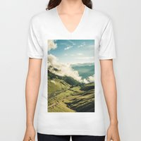 wander V-neck T-shirts featuring Wander by StayWild