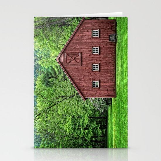 Connecticut Barn Stationery Cards