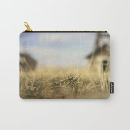 """Lo-Fi""  / Old Barn Buildings Carry-All Pouch"