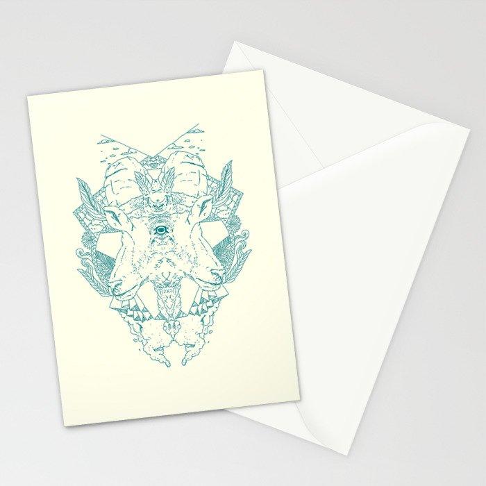 Blind Goat Stationery Cards