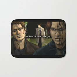 We will be back... for you - Supernatural Bath Mat