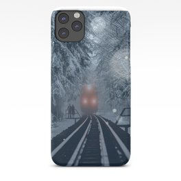 Snow Express iPhone Case