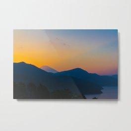Hakone Sunset Metal Print