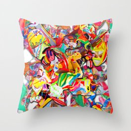 #connect collage 2016 Throw Pillow