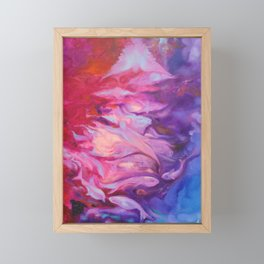Phantasmagoria. Deep ocean life Framed Mini Art Print