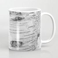 birch Mugs featuring BIRCH by Kjellin