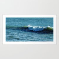 surfer Art Prints featuring Surfer by Liveart4evr