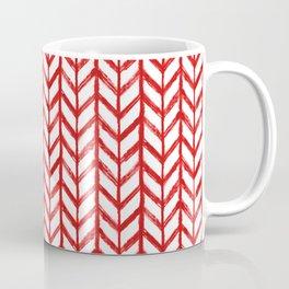 Shibori Chevrons - Peppermint Coffee Mug
