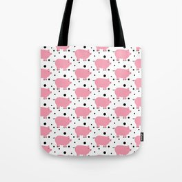 Here Piggy Piggy Tote Bag