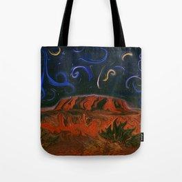 Uluru by Night Tote Bag