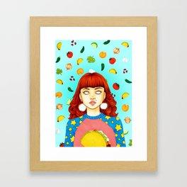 Taco Enthusiast Framed Art Print