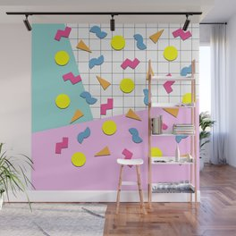 Back to the 80s Wall Mural