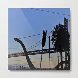 Sunset Arrow Metal Print