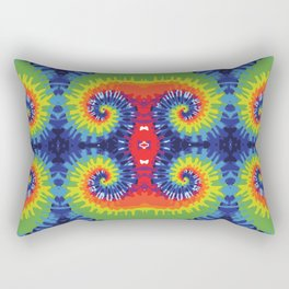 Tie Dye Crazy Rectangular Pillow