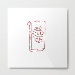 pocky pack Metal Print