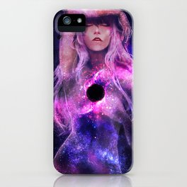 Supermassive Black Hole iPhone Case