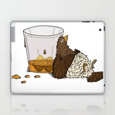 Thirsty Grouse - Colored with White Background Laptop & iPad Skin