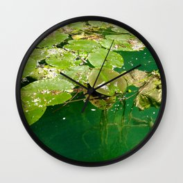 nympheas Wall Clock