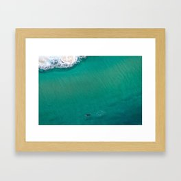 Surfing Day III Framed Art Print
