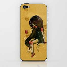Leave me alone iPhone Skin