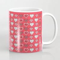 valentine Mugs featuring Valentine by Heaven7