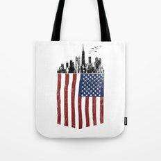 America city Tote Bag